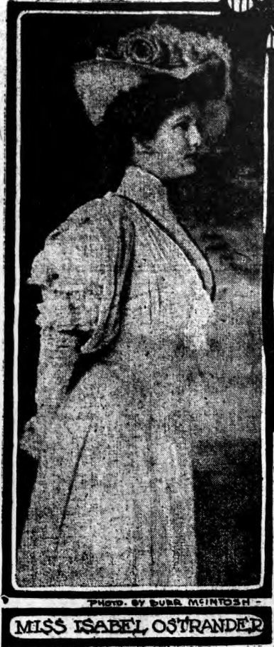 Isabel Ostrander c. 1907